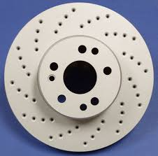 cross drilled rotor