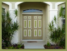 front entryway door