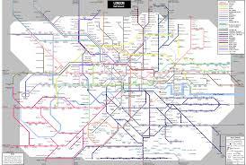 london train maps