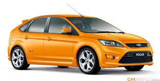 ford focus st electric orange