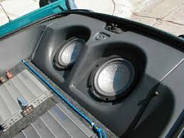 camaro subwoofer enclosure
