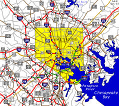 baltimore city map