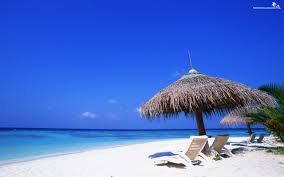 blue oceanic beach