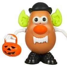 halloween potato head