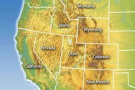 western united states maps