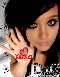 emo girls hot
