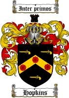 hopkins family crest