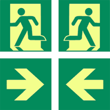 exit signs for buildings