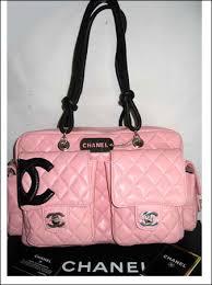 chanel handbags pink