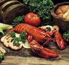 cooked shellfish