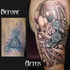 biomechanical tattoo designs