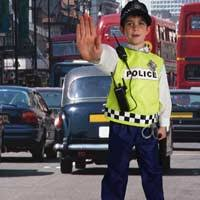 police dressing up