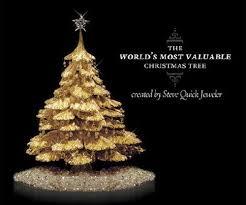 christmas trees gold