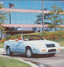 1988 chrysler lebaron convertible