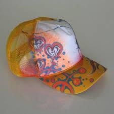 orange trucker hat
