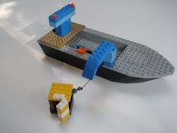 lego fishing boat