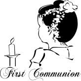 first communion graphic