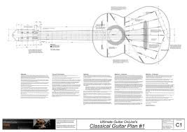 guitar making plans
