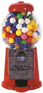 classic gumball machine