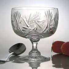crystal dishes