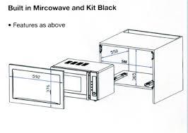 microwave dimensions