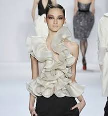 ruffle fashion