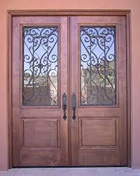 iron grill doors