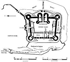 harlech castle floor plan