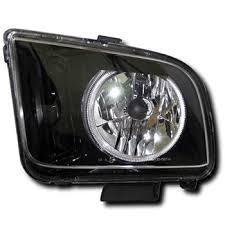 headlights mustang