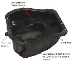 subaru oil pan