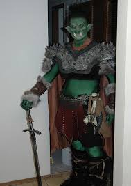 lord of the rings orc costume