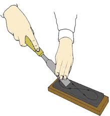chisel sharpen