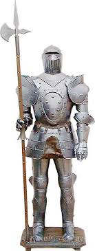 medieval suit of armour