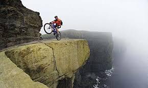 mountains biking