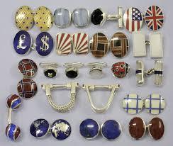 antique silver cufflinks