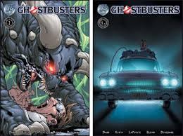ghostbusters comic books
