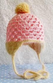 crocheting baby hats