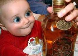 alcohol and babies