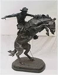 remington bronze sculpture
