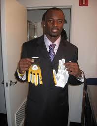 reebok gloves football