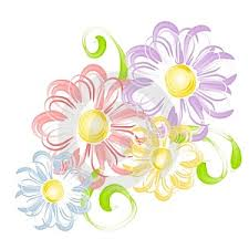 clip art of spring flowers