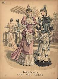 late victorian dresses