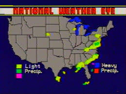 old weather maps