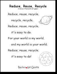 recycle poem