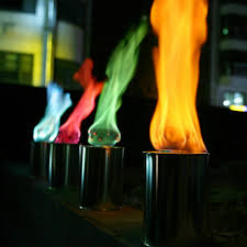 colors of a flame