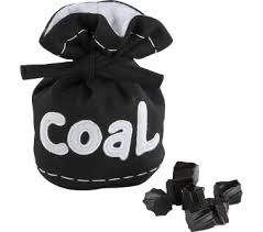 lump of coal for christmas