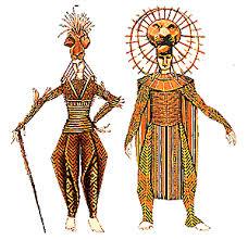 lion king broadway costumes