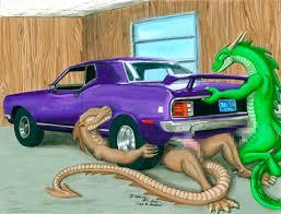dragon cars