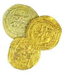 islamic gold coin