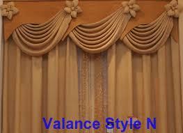 drapes and valance